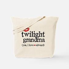 Twilight Grandma Tote Bag