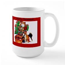 Basenji Christmas Mug