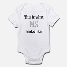 This is what MS looks like Infant Bodysuit