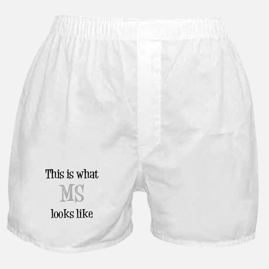 This is what MS looks like Boxer Shorts