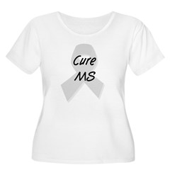 Cure MS (grey) T-Shirt