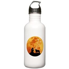 Rough Collie Sports Water Bottle