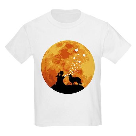 Rough Collie Kids Light T-Shirt