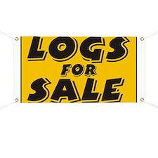 Logs Sale Banner