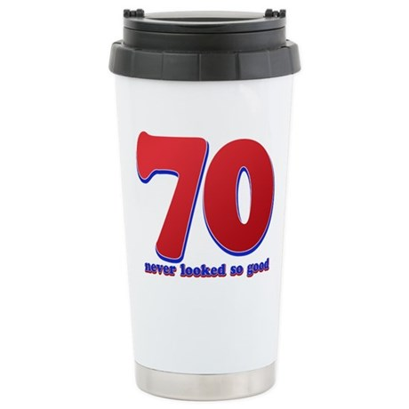 70 years never looked so good Stainless Steel Trav