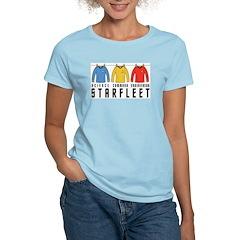 Starfleet Uniforms Women's Light T-Shirt