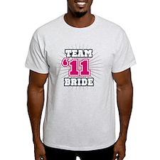 Navy 11 Team Bride T-Shirt