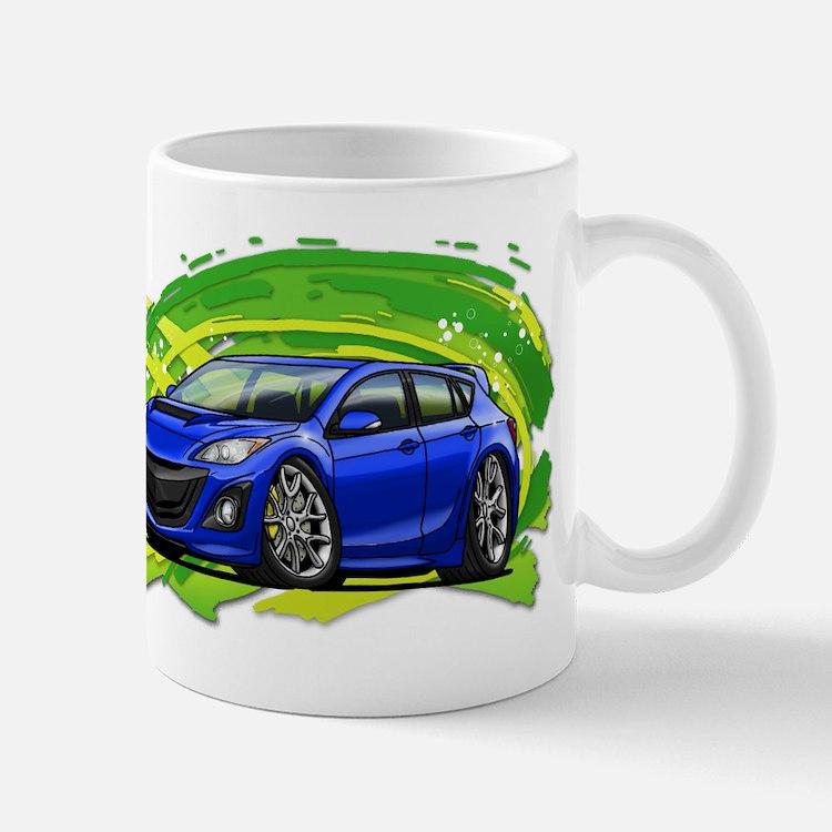 Blue Speed3 Mug