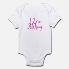 I Love Mahjong Infant Bodysuit