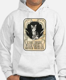 Time spent with cats is never wasted Hoodie