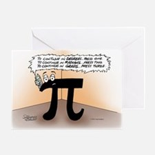 Pi On Hold Greeting Card