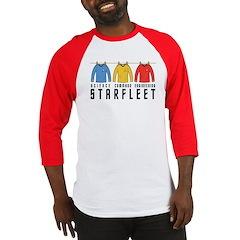 Starfleet Uniforms Baseball Jersey
