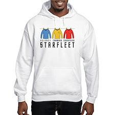 Starfleet Uniforms Hoodie