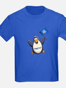 Connecticut Penguin T