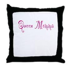 Queen Momma Throw Pillow