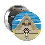 "Egyptian Pharaoh King 2.25"" Button (100 pack)"