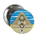 "Egyptian Pharaoh King 2.25"" Button (10 pack)"