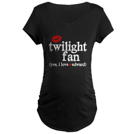 Twilight Fan Maternity Dark T-Shirt