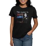 The Name's James Baud Women's Dark T-Shirt
