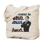 The Name's James Baud Tote Bag