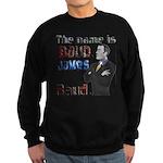The Name's James Baud Sweatshirt (dark)