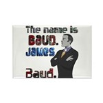 The Name's James Baud Rectangle Magnet