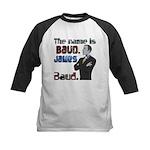 The Name's James Baud Kids Baseball Jersey