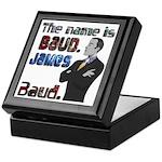 The Name's James Baud Keepsake Box