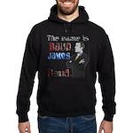 The Name's James Baud Hoodie (dark)