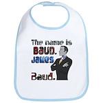 The Name's James Baud Bib