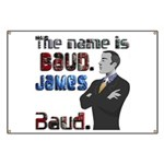 The Name's James Baud Banner