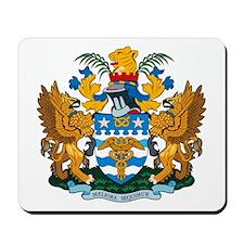 Brisbane Coat of Arms Mousepad