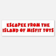 Escapee Bumper Bumper Sticker