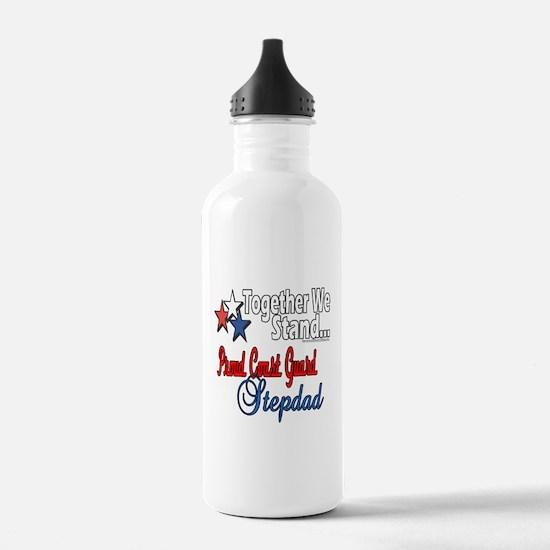Coast Guard Stepdad Water Bottle