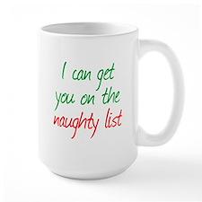 Naughty List Mug