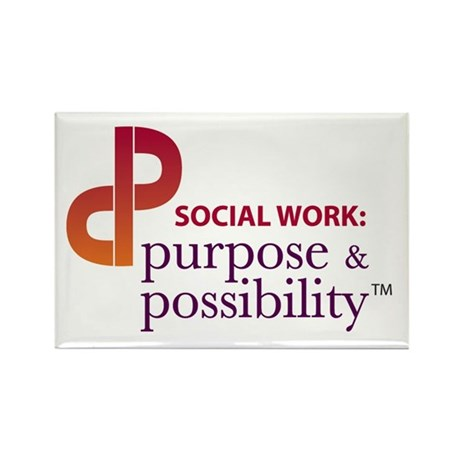 Purpose and Possibility Rectangle Magnet (10 pack)