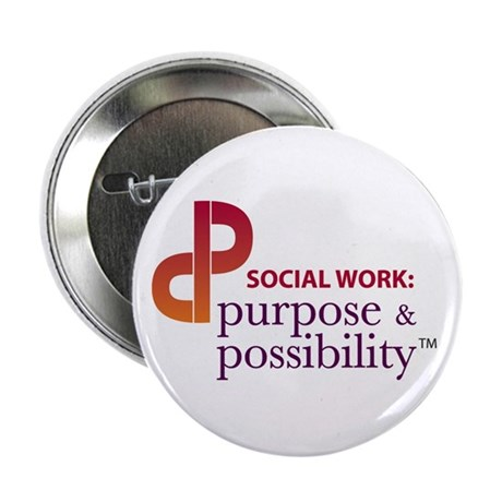 """Purpose and Possibility 2.25"""" Button (100 pac"""