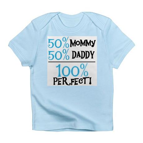 Blue 100 Percent Perfect Infant T-Shirt