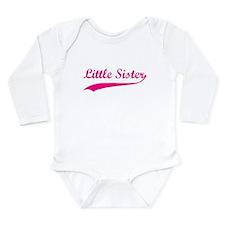 Little Sister Long Sleeve Infant Bodysuit