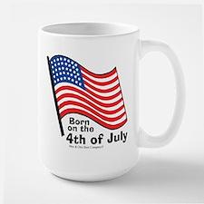 Born on the 4th of July Mug