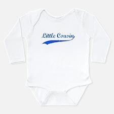 Little Cousin Long Sleeve Infant Bodysuit