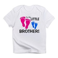 Little Brother Baby Footprint Infant T-Shirt