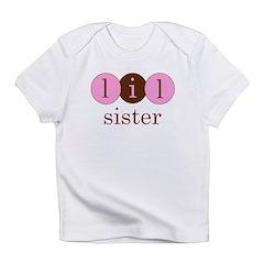 Lil Sister (Little Sister Cir Infant T-Shirt