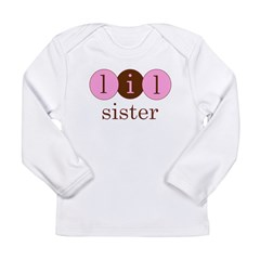 Lil Sister (Little Sister Cir Long Sleeve Infant T