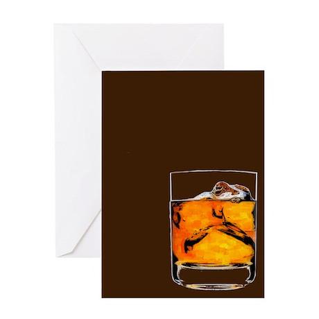 Carpe Bourbon Greeting Card