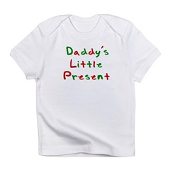 Daddy's Little Present Infant T-Shirt