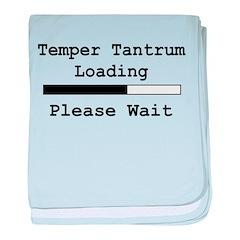 Temper Tantrum Loading baby blanket
