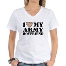 I Love My Army Boyfriend Shirt