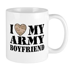 I Love My Army Boyfriend Mug