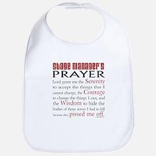 Stage Manager's Prayer Bib